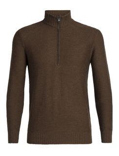 Ice M Waypoint Ls Half Zip Sweater Brh