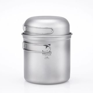 Keith 2 Piece Titanium Pot Set 1.2l +384