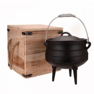 Campfire 8l Potjie Pot Cast Iron
