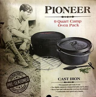 Campfire Pioneer 9 Quart Dutch Oven Pack