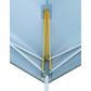 Oztrail Deluxe 4.5m Gazebo Blue