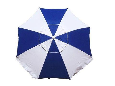 Shelta Pacific 200 Umbrella Blue/w Strip