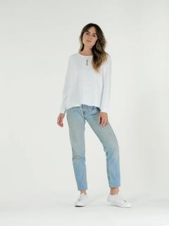 Cle W Margo Sweater White