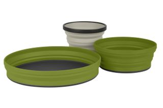 Sea To Summit X Set 3 Piece Olive With Pouch
