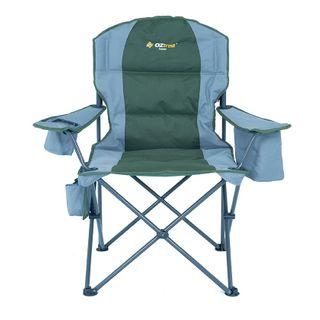 Oztrail Cooler Arm Chair Green