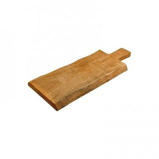 Urban Green Mango Wood Rectangular Board With Handle Large