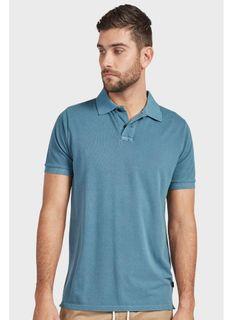 Academy Brand Polo Shirt Steel