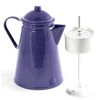 Falcon Enamel Coffee Percolator 2.7l Blue