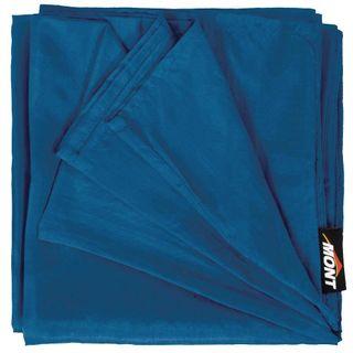 Mont Silk Inner Sheet Standard Ocean Blue