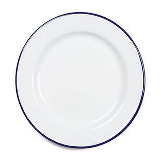 Falcon Enamel Plate 26cm White