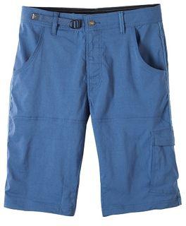 Prana Mens Stretch Zion Short Blue