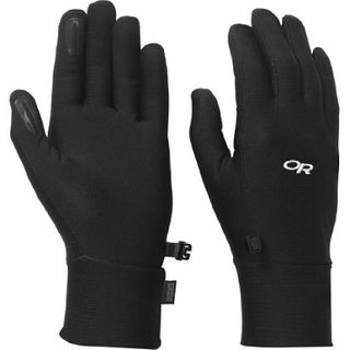 Outdoor Research Womens Base Gloves Black