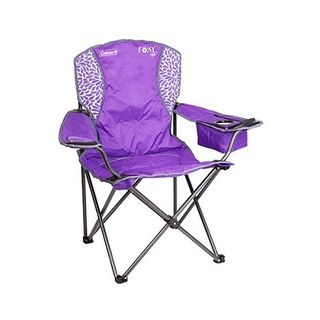 Coleman Foxy Lady Quad Chair Purple