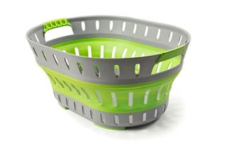 Companion Collapsible Laundry Basket Geen