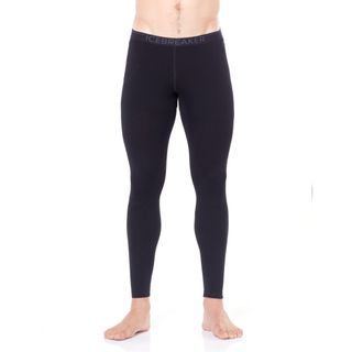 Icebreaker Mens Tech Leggings Black