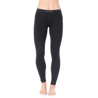 Icebreaker Womens 200 Oasis Leggings Black