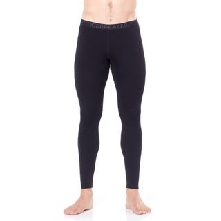 Icebreaker Mens 260 Tech Leggings Black