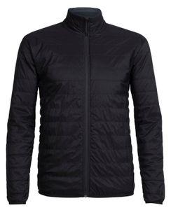 Icebreaker Mens Hyperia Lite Jacket Black