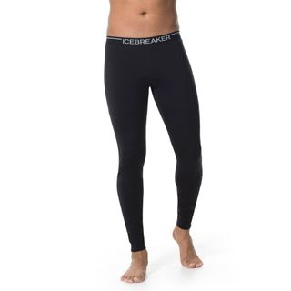 Icebreaker Mens 200 Oasis Thermal Leggings Black