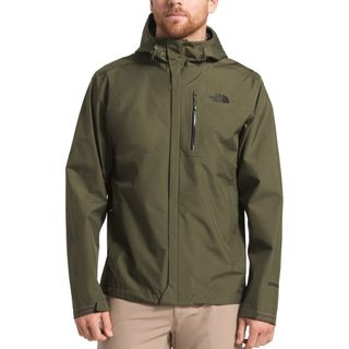 The North Face Mens Dryzzle Jacket New Taupe Green