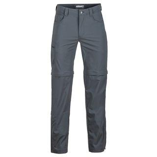 Marmot Mens Transcend Convertible Pant Slate / Grey