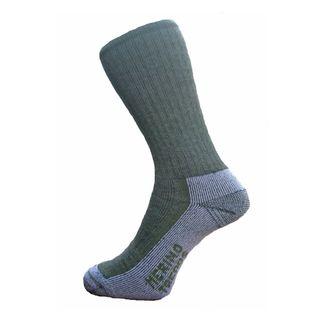Merino Treads Unisex All Day Feet Dark Olive