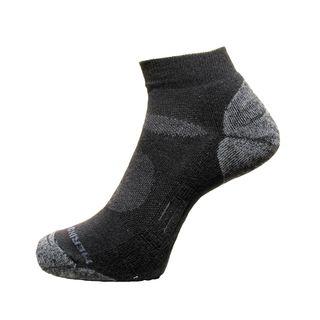 Merino Treads Unisex Airflow Anklet Black