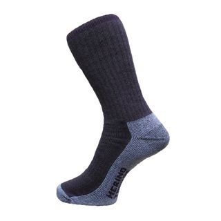 Merino Treads Unisex All Day Feet Aubergine Marle