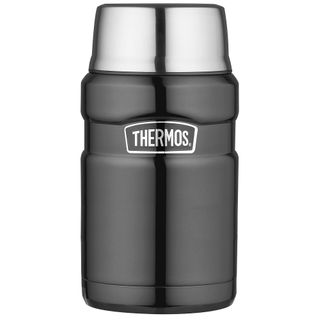 Thermos 710ml Stainless King Food Jar Smoke