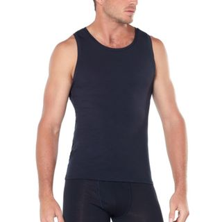 Icebreaker Anatomica Tank Black / Monsoon