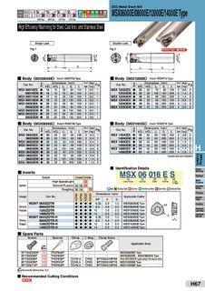 MSX06000 Indexable Endmills