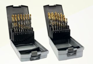 1.0 - 13.0mm 0.5 Increment Set - TiN Tipped