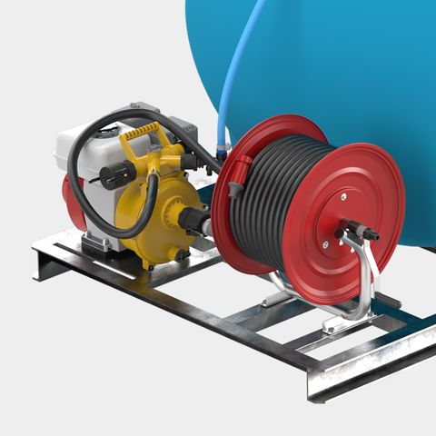 3,000L & 5,000L Cartage Fire Pump Kit