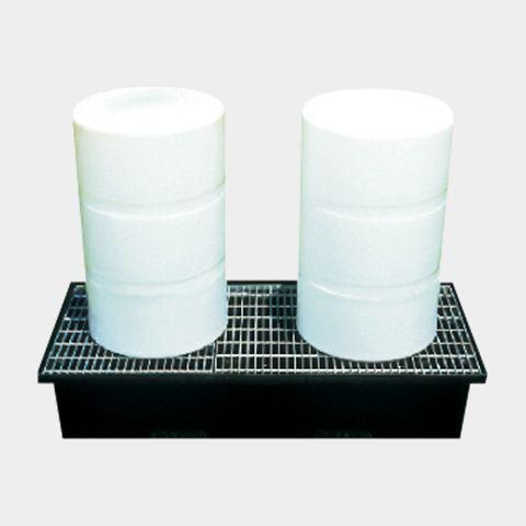 Drum Bund (2 x 205L) with grate