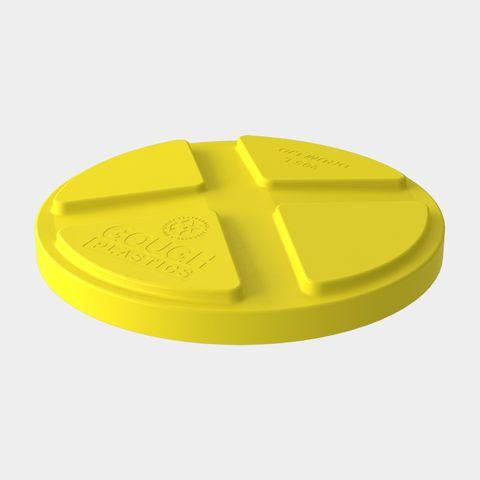 205L Drum Lid - Yellow