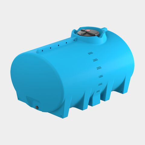 3,000L Cartage Tank No Sump
