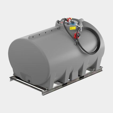 3,000L Cartage Tank No Sump Diesel