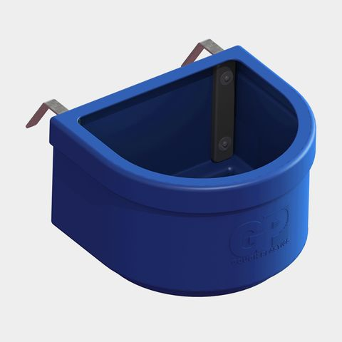 D Horse Feeder - Dark Blue