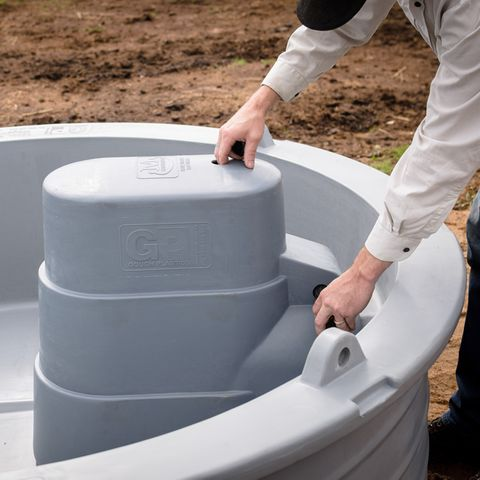Round & 2.4M MegaTroughs Float Cover