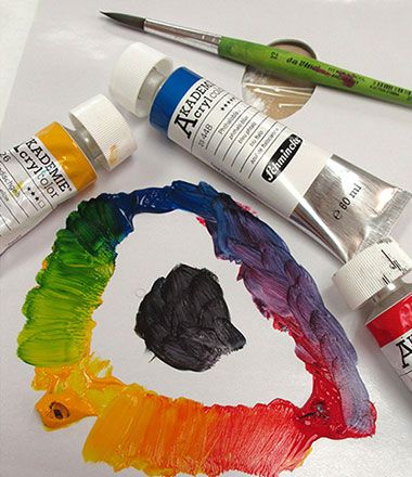 ART ON AN ART SCHOOL BUDGET