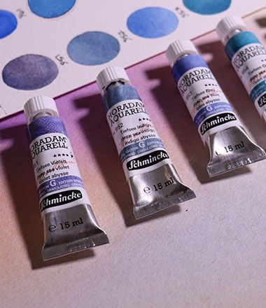 New Schmincke Super Granulating Watercolours