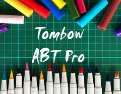NEW TOMBOW ABT PRO ALCOHOL INK MARKERS!