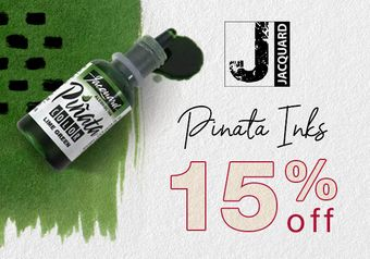 15% off Pinata Inks