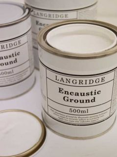 LANGRIDGE ENCAUSTIC WAX & GROUNDS