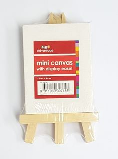 JASART MINI CANVAS & EASEL