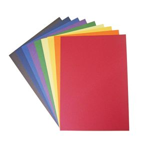 COLOURFIELD CARD LARGE 270G SHEETS 450X640MM