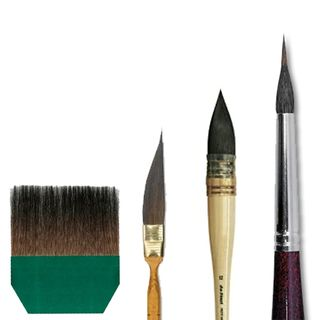 DA VINCI SQUIRREL/WASH BRUSHES