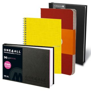 SKETCH BOOKS, NOTEBOOKS, VISUAL DIARIES