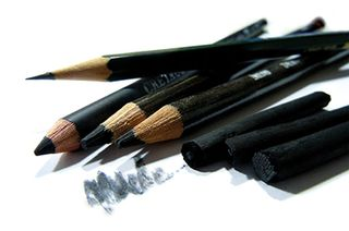 PENCILS, CRAYONS, CHARCOAL & ACCESSORIES