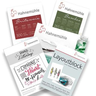 HAHNEMUHLE PADS, PACKS AND BLOCKS
